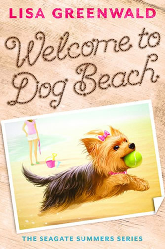 Book 1 - Welcome Dog Beach by author Lisa Greenwald