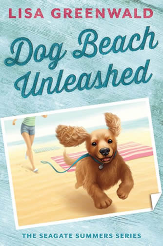 Book 2 - Dog Beach Unleashed by author Lisa Greenwald
