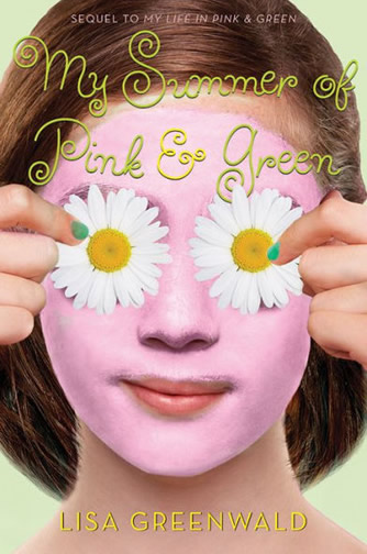 Book 2 - My Summer of Pink and Green by author Lisa Greenwald