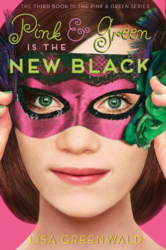 Pink and Green Series by author Lisa Greenwald
